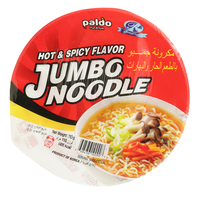 Paldo Hot & Spicy Flavour Jumbo Noodles 110g