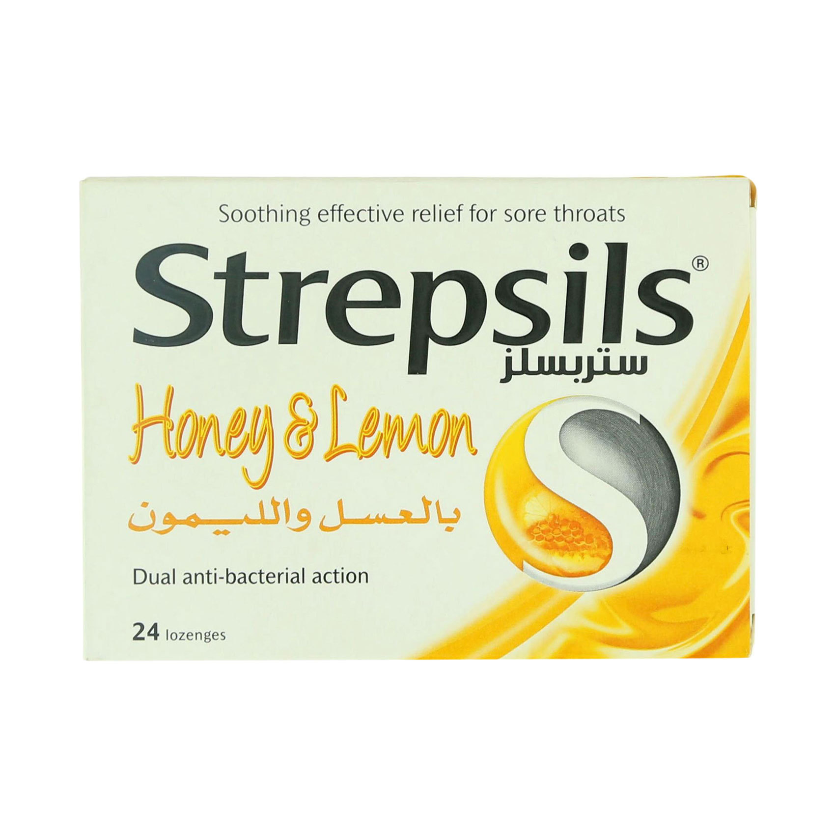 STREPSILS HONEY & LEMON 24's