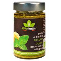 Bioitalia Organic Pesto Sauce with Basil 180g