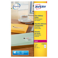 Avery Clear Address Label L7560-25