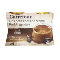Carrefour Dessert Creme Coffee Jar 100gx4