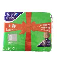 Fine Baby Diapers Large 30 Diapers