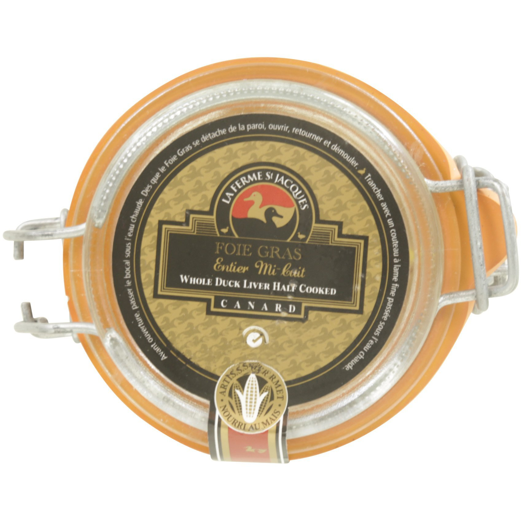 ST JACQUES DUCK LIVER 180G
