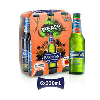 Barbican Malt Beverage Peach 330ML X6