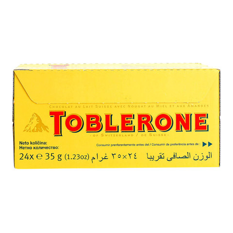 Toblerone-Little-Minis-Swiss-Milk-Chocolate-With-Honey-&-Almond-Nougat-35g-X24