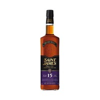 Saint James 15 Years 43% Alcohol Rum 70CL