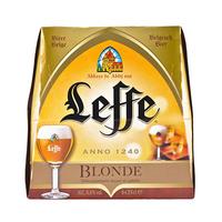 Leffe Blonde Beer 6.6%V Alcohol 25CL X6