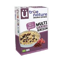 True Nature Organic Oatmeal Multi Grains Raisin 400GR