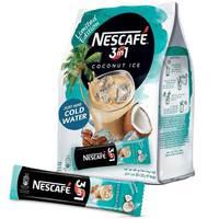 Nescafe 3in1 Coconut Ice Instant Coffee Mix Sachet 20gx20