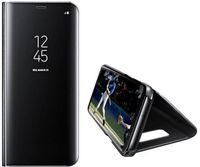 سامسونج كلير فيو حافظة هاتف سامسونج جلاكسي S9 لون أسود