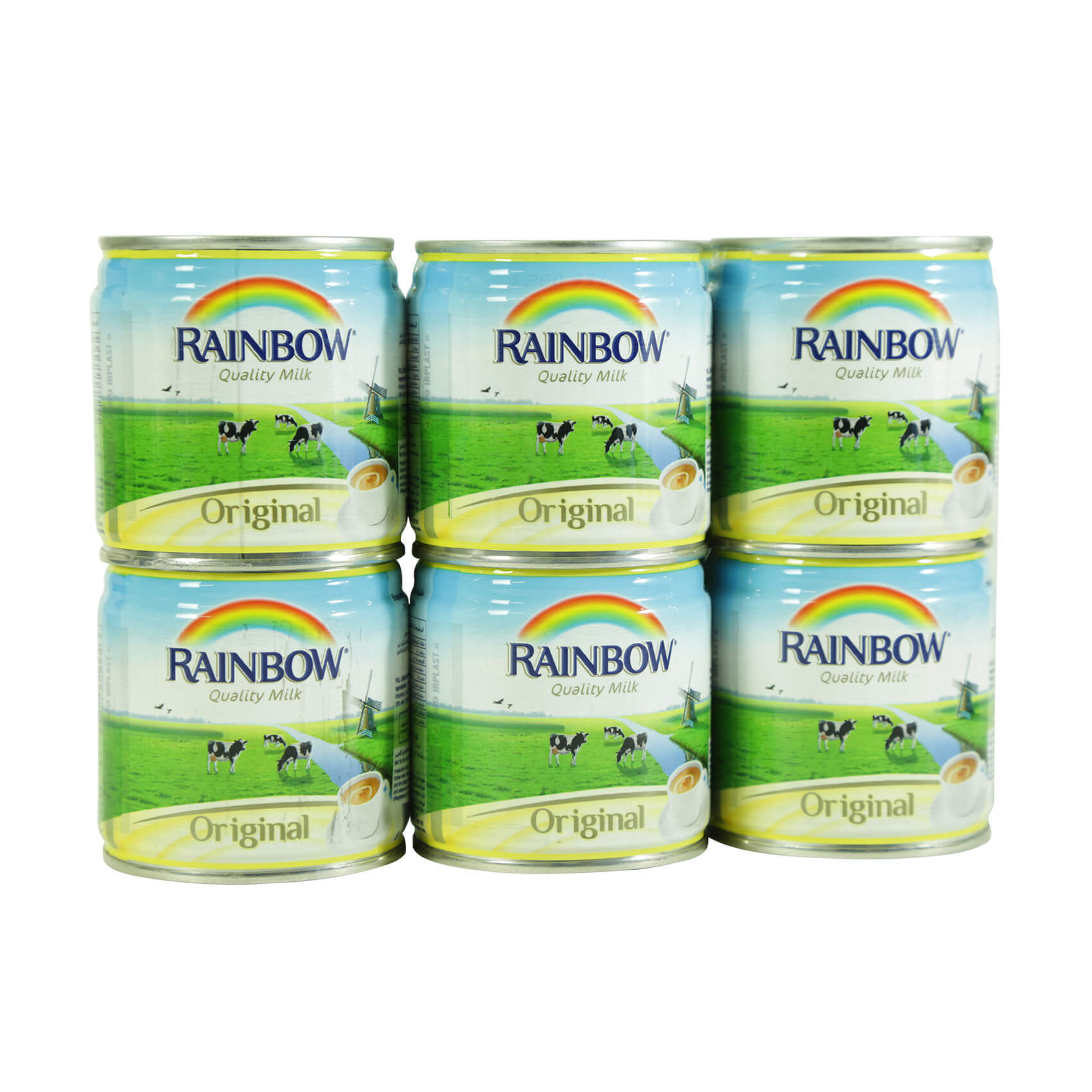 RAINBOW EVAPORATED MILK 170GX12