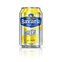 Bavaria Non-Alcoholic Beer Can Lemon 33CL