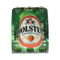 Holsten Strawberry flavor Malt Beverage 330mlx6