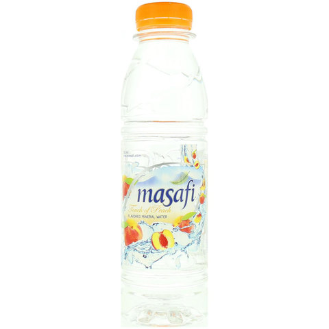 Masafi-Touch-of-Peach-Flavored-Water-500ml