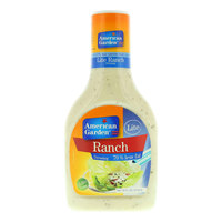 American Garden Lite Ranch Dressing 473ml