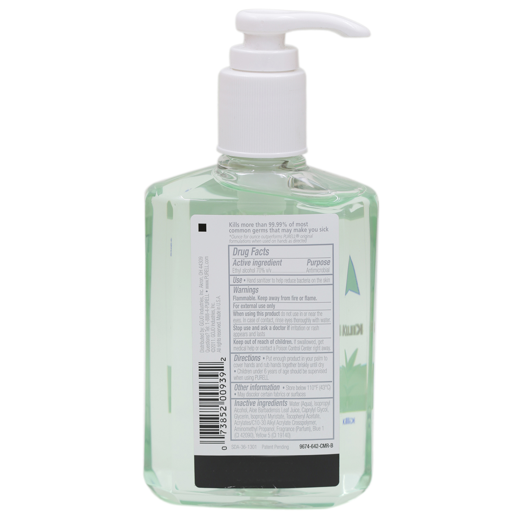 PURELL HAND SANITIZER ALOE 240ML