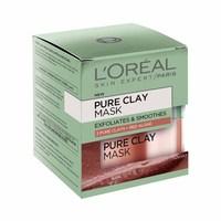 L'Oreal Paris Pure Clay Glow Red Mask 50ML + Spatula