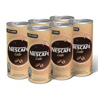 Nescafe Ready To Drink Latte Chilled Coffee Can 240ml x6