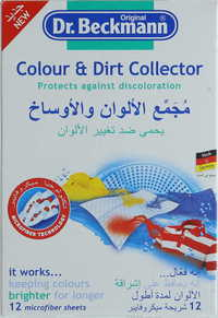 Dr. Beckmann Colour And Dirt Collector 10 Pieces