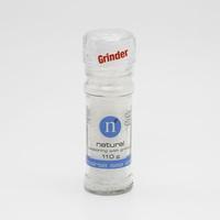 Natural Coarse Sea salt with Grinder 110 g