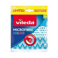 Vileda Cloth Microfibre Colors 3 Pieces