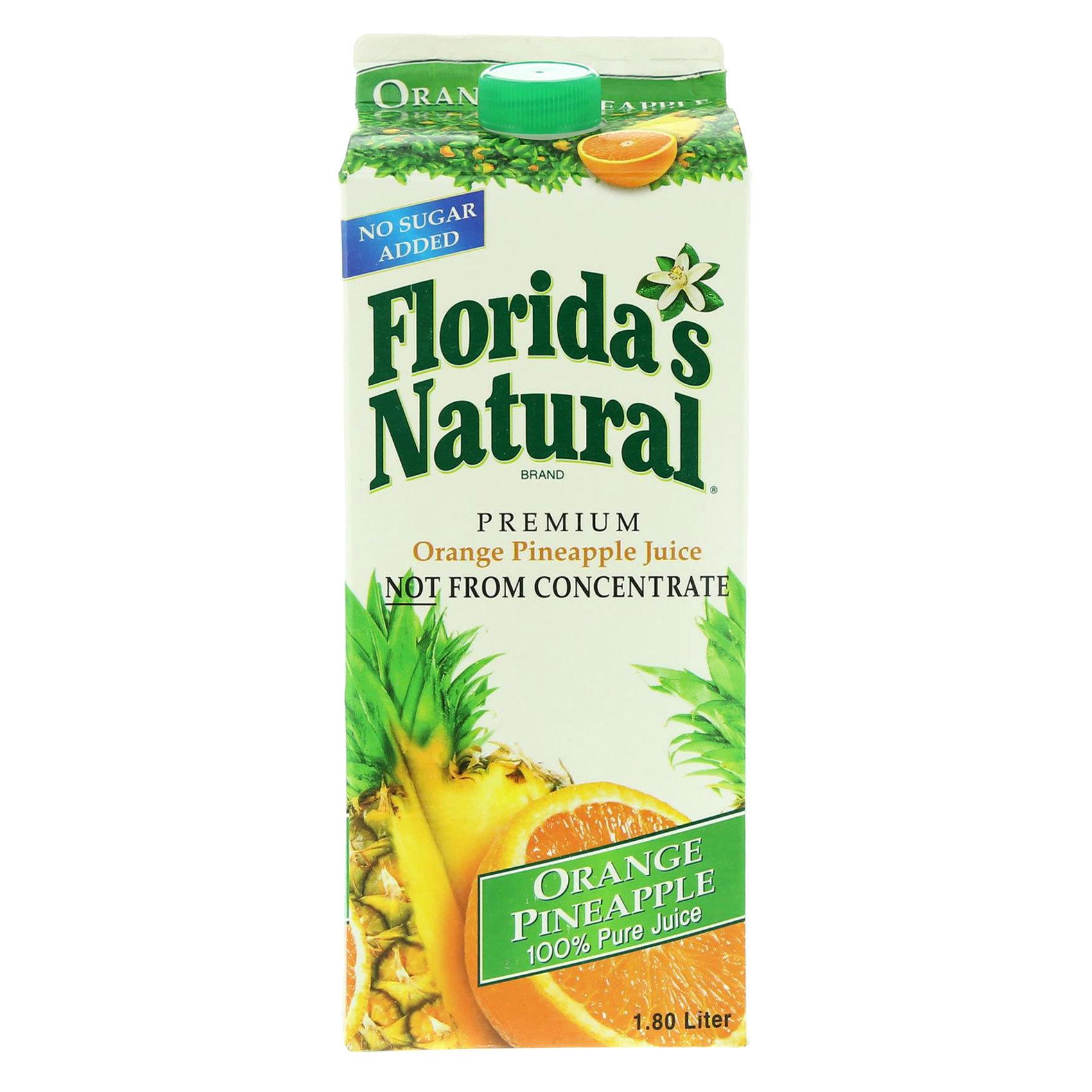 FLORIDA.JUICE ORANGE PINEAPPLE 1.8L