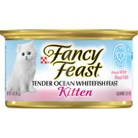 Purina Fancy Feast Kitten Ocean Whitefish Wet Cat Food 85g