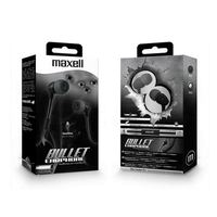 Maxell Earphones Bul-90 Bullet Black