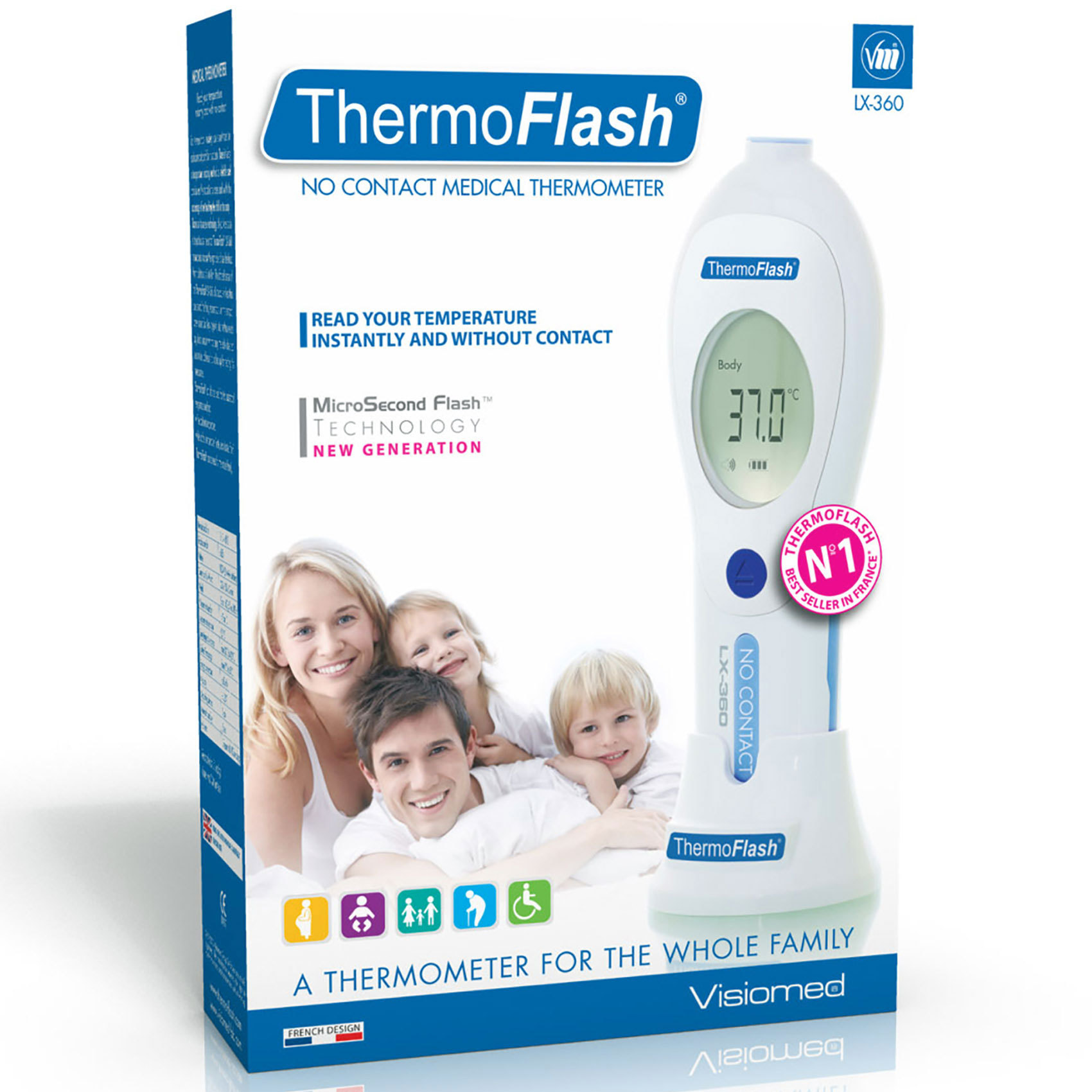 VISIOMED THERMOMETER LX-360