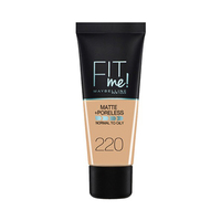 Maybelline New York - Fit Me Foundation 220 Natural Beige 30ML