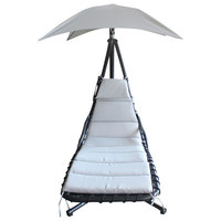 Paradiso Hanging Chair With Sunshade (Delivered In 7 Business Days)