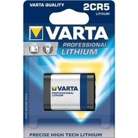 Varta Professional 2CR5 Battery Lithium