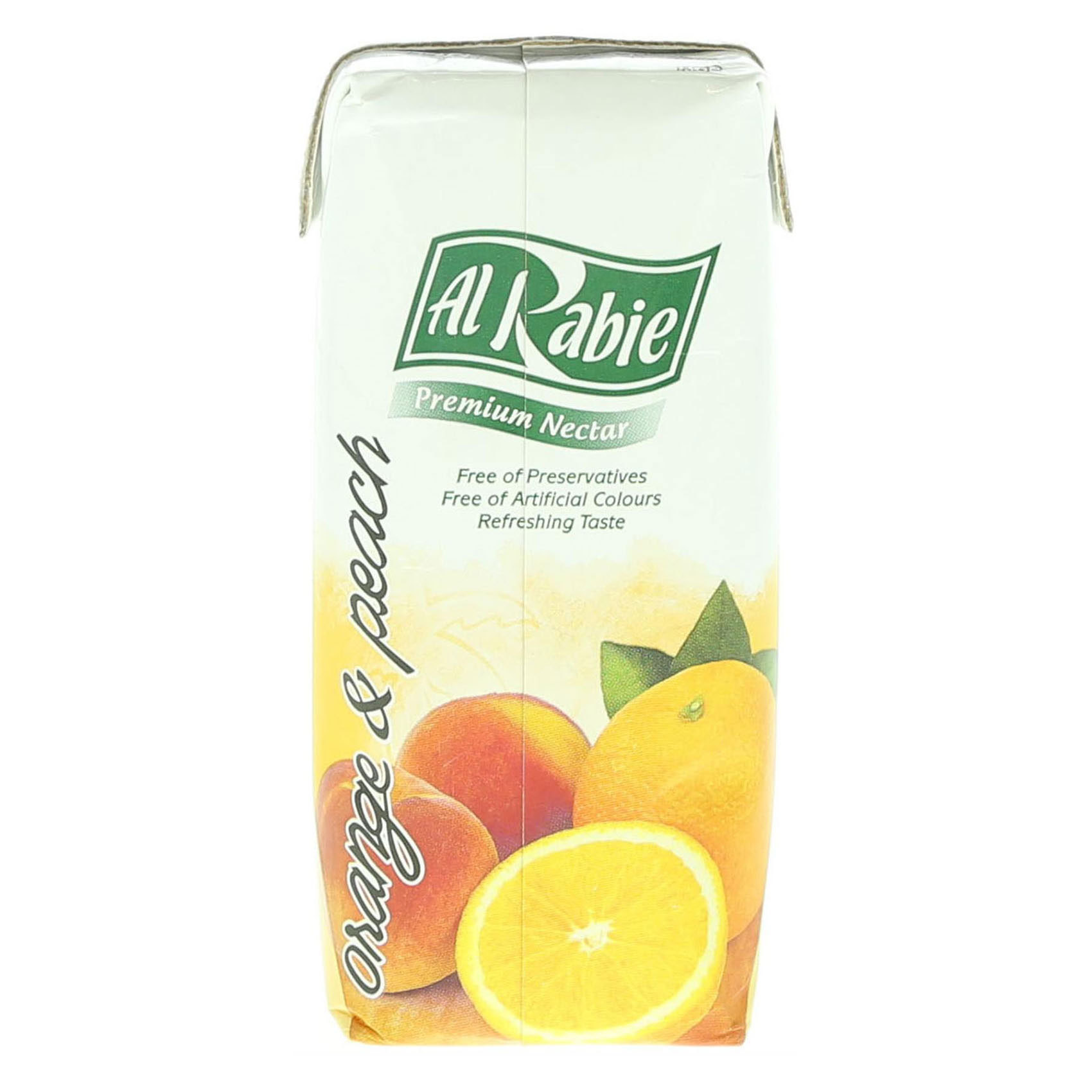 AL RABIE ORANGE & PEACH 330ML