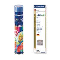 Vp Steadtler 12 Noris Pencil +12 Color Pencil