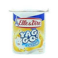 Elle & Vire Yag Go Banana Dessert 125g
