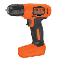 Black&Decker Cordless Dril Lt-Ion 7.2V+5Bt W/Cs