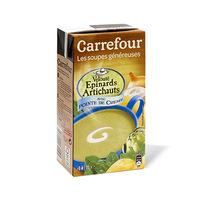 Carrefour Spinach And Artichoke Vegetable Soup 1L