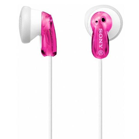 Sony-Earphone-MDRE9-Pink