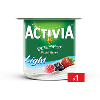Activia Yogurt Light Mixed Berry 120 g