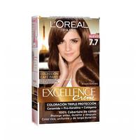 L'Oreal Paris  Excellence Colour Cream Honey Brown No 7.7 -10% Off