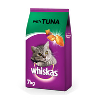 Whiskas Tuna Dry Food Adult 1+ years 7kg