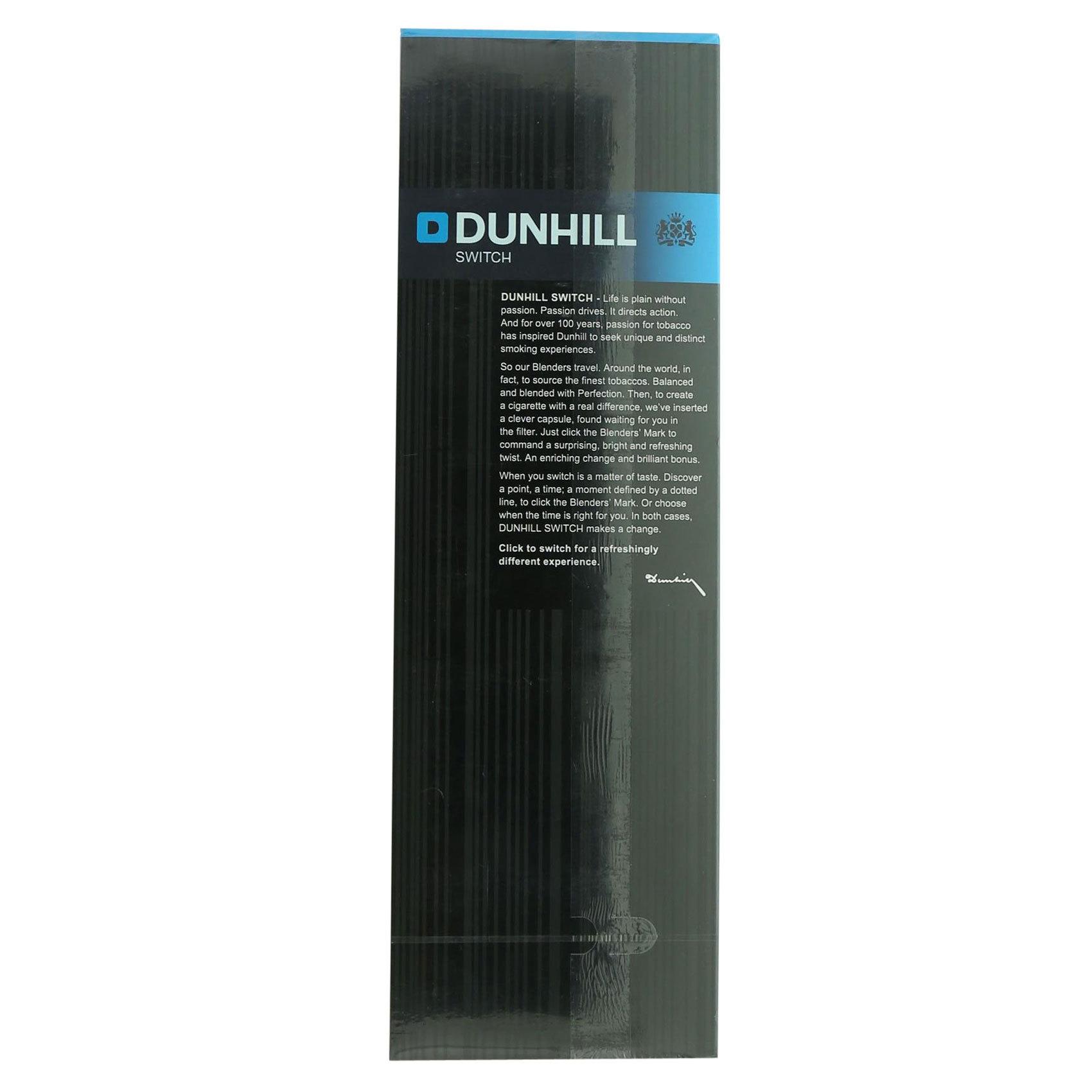 DUNHILL SPEARMINT BLACK 20'SX10