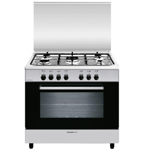 Glemgas-90X60-Cm-Gas-Cooker-AL9612GI/FS