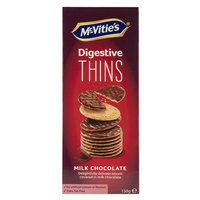 McVitie's Digestive Thins Milk Chocolate 150g