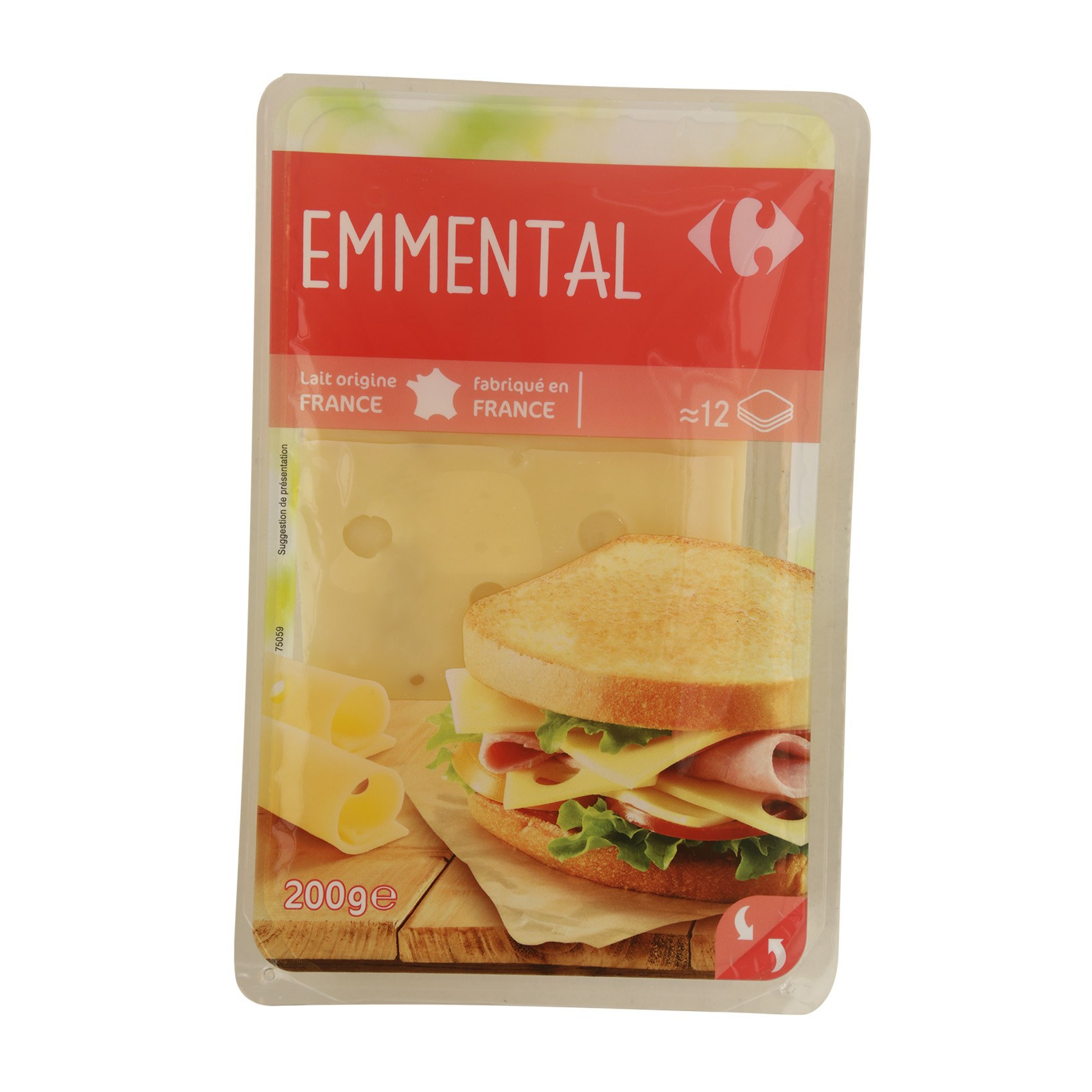CRF EMMENTAL SLICES 200G