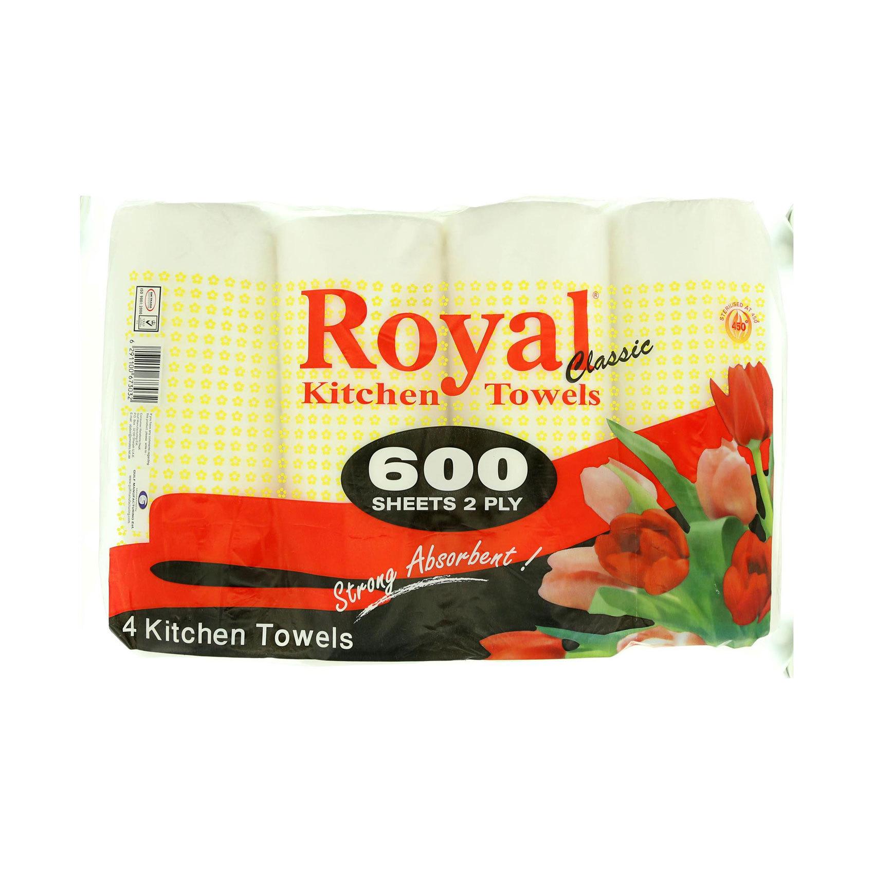 ROYAL KITCHEN TOWEL X2