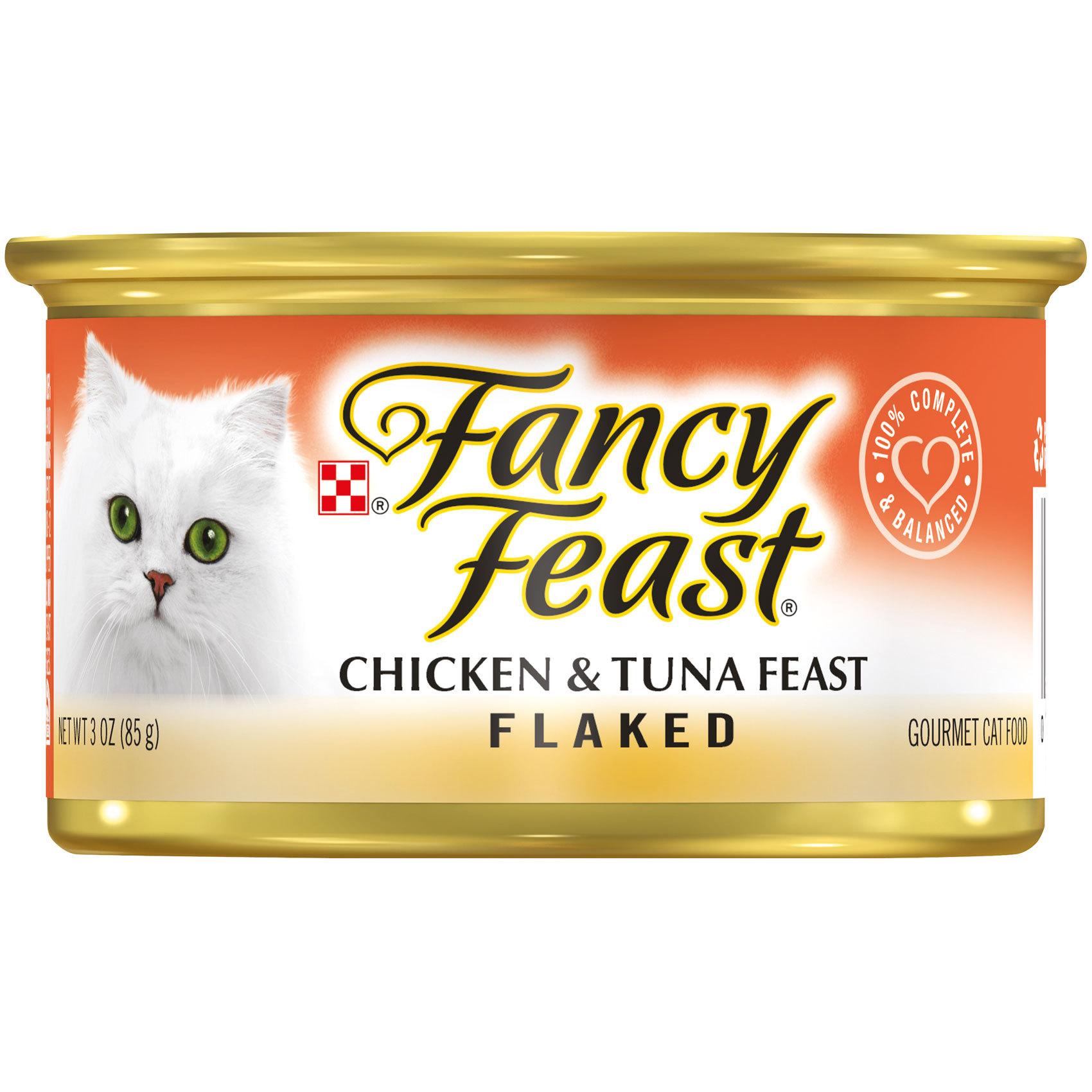 FANCY FEAST CHICKEN &TUNA 85G