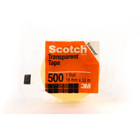 3M Scotch Utility Tape Clear 3/4X36 yd
