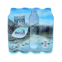 Masafi Bottled Drinking Water 500mlx12