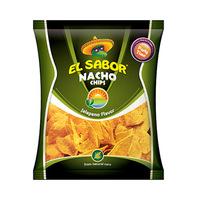 El Sabor Jalapeno Flavor Nacho Chips 225GR